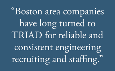 Boston engineering recruiters pull quote graphic.