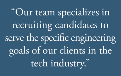 Engineering recruiting services pull quote graphic.