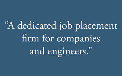 Job placement pull quote graphic.